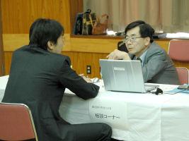 渡辺先生の電気化学よろず相談ブース 完全予約制ですが、きっと答えが見つかるはずです。