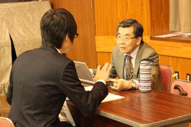 BASセミナー2014 第2回 デモコース:渡辺訓行先生による個別相談コーナー
