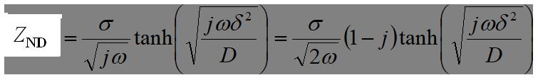 電気化学 測定 NDのインピーダンス式