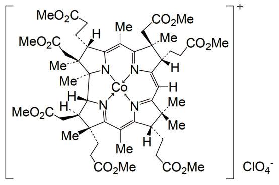 ビタミンB12誘導体錯体の構造